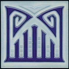 Art1900, Antiquitäten, Berlin, Kurfürstendamm 53, Jugendstil Fliese, art 1900, art nouveau tile