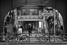 Berlin | West Berlin. U-bahnhof Eberswalder Straße