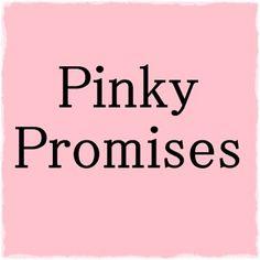 Pinky swear   Found on agirlsrighttodream.tumblr.com
