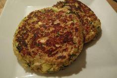 Galette de courgettes aux oignons - Mes Recettes au Cooking Chef