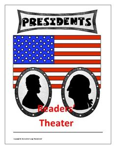 "This activity begins with an eight script readers' theater about four important presidents:  George Washington, Thomas Jefferson, Abraham Lincoln, and Theodore Roosevelt.  A special competition is being held and students will be picking, ""America's Top President.""   The focus of the script is on the accomplishments of these presidents during their terms.  Check it out!  On sale at TpT."