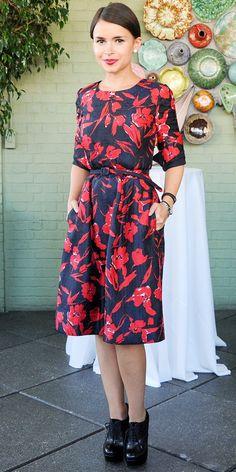 Miroslava Duma Wears Fashion's Chicest Collaboration via @WhoWhatWear