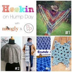 Hookin' on Hump Day is live and we are back with some awesome new projects! Stop by and see them all. #crochet #fiber #knit