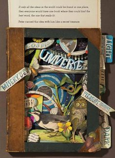 'The Right Word: Roget and His Thesaurus' by Jen Bryant, illustrated by Melissa Sweet (Eerdmans, September This looks Amazing! Children's Books, Good Books, Melissa Sweet, Book Cafe, September 2014, Art Journal Inspiration, Children's Book Illustration, Digital Collage, Beautiful Artwork