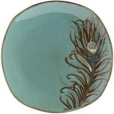 Peacock Dinnerware