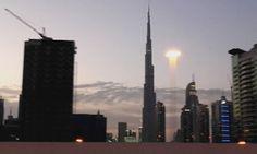Breaking news: UFO in Dubai!