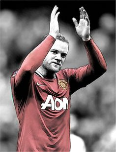 Wayne Rooney - Currently the jewel in the United crown. Manchester United Legends, Manchester United Football, Hollywood Tonight, Good Soccer Players, Wayne Rooney, Best Football Team, Professional Football, Old Trafford, Man United