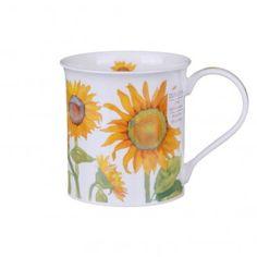 Flowers - Sunflowers (Bute Mug - Dunoon) Chocolate Coffee, Black Coffee, Sunflowers, Tea Pots, Coffee Mugs, Shapes, Tableware, Creative Decor, Creativity