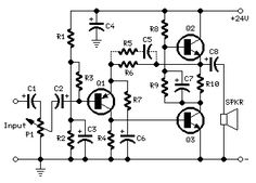 3 - 5 Watt Class-A Audio Amplifier - schematic