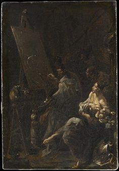 Alessandro Magnasco (1667-1749) | Atelier d'un peintre