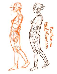 I started drawing these as a way to practice my figures…turns-out you guys can get something from my stylized body drawings. I've drawn about 500 of these since February Made books. Please, use these poses and make new art. Human Anatomy Drawing, Human Figure Drawing, Figure Sketching, Figure Drawing Reference, Gesture Drawing, Anatomy Art, Drawing Base, Anatomy Sketches, Art Sketches