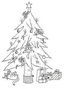 Christmas Colors Mignon Coloring Animaux Xmas Do Crafts