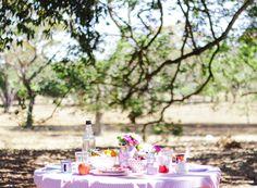 garden breakfast tea party blog do math. Instagram: @mathdoblog | www.blogdomath.com.br