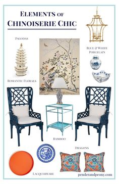 Elements of Chinoiserie Chic