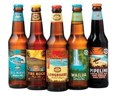 The Kona line up has a real sense of place through the branding.