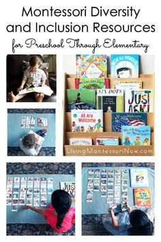 Comprehensive Montessori diversity and inclusion printables from Every Star Is Different for preschool through elementary. Post includes a variety of diversity and inclusion books as well - Living Montessori Now Montessori Classroom, Montessori Materials, Montessori Activities, Montessori Quotes, Montessori Homeschool, Montessori Elementary, Maria Montessori, 1st Grade Books, Diversity Activities