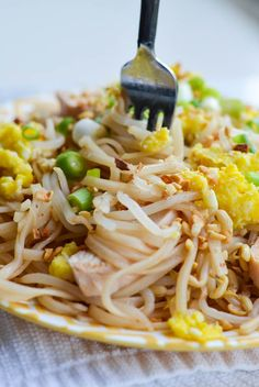 The Original BETTER-THAN-TAKEOUT PAD THAI from Rachel Schultz