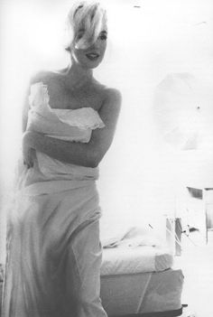 MM photographed by Bert Stern on July 10, 1962 for Vogue.