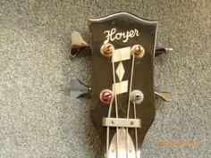 E-Bass Gitarre, Fa. HOYER in Nordrhein-Westfalen - Rheda-Wiedenbrück | Musikinstrumente und Zubehör gebraucht kaufen | eBay Kleinanzeigen