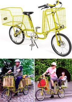 Camioncyclette Is Like The Pickup Truck Of Bicycles - OhGizmo!