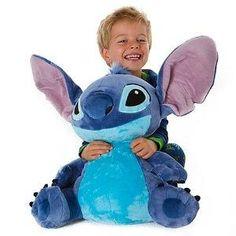 I found 'Disney Lilo and Stitch Plush - Stitch Jumbo size Stuffed Animal' on Wish, check it out!