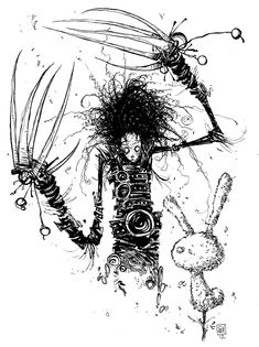 Skottie young - this man influences my drawing style a lot!  - He has tim burton as an influence also