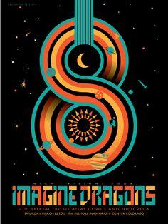 Imagine Dragons 3/23 at The Fillmore Auditorium