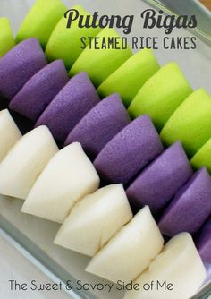 Rice Cakes (Putong Bigas) I Best paired with Dinuguan, Sopas, Lugaw or Pancit to name a few.Best paired with Dinuguan, Sopas, Lugaw or Pancit to name a few. Asian Desserts, Asian Recipes, Dessert Recipes, Ube Recipes, Rice Cake Recipes, Rice Flour Recipes, Sticky Rice Recipes, Pinoy Dessert, Kitchen