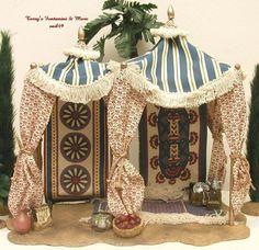 Hobbies For Women Over 50 Key: 1078482278 Diy Nativity, Christmas Nativity, Nativity Scenes, Christmas Ideas, Biblical Costumes, Hobby House, Ceramic Houses, Heaven Sent, Miniture Things