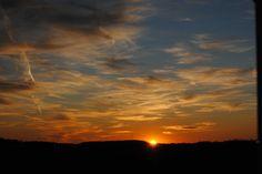 Lancaster County sunset