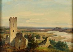River Landscape with Castle Ruins | The Morgan Library & Museum