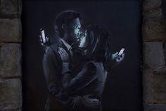 Contrario a los rumores, Banksy no fue detenido y en cambio subió una nueva pieza a su página de internet.