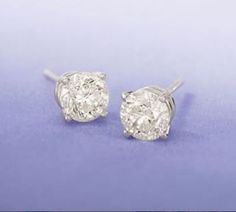 Diamond studs are a jewelry must-have. They can go from day-to-night, weekday-to-weekend with ease. Item no. Gemstone Jewelry, Diamond Jewelry, Gold Jewelry, Fine Jewelry, Diamond Studs, Diamond Engagement Rings, Stud Earrings, Gemstones, Crystals
