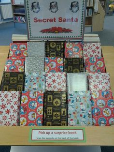 Get a surprise book from Secret Santa at Egham Library