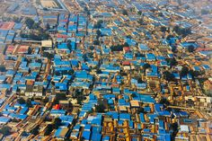 Residential area, Beijing, China   15 Of The Most Incredible Shots Taken From Above