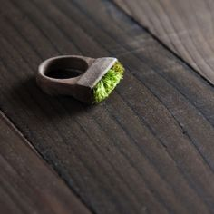 Jewelry and accessories not just inspired by nature but made FROM nature.