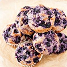 These dairy free blueberry muffins made with Blueberry Silk Non-Dairy Yogurt Alternative also happen to be both gluten-free and egg-free as well. A moist muffin bursting with blueberry flavor to greet you at breakfast, and I promise you won't miss the gluten, the egg or the dairy! Enjoy! | pastrychefonline.com