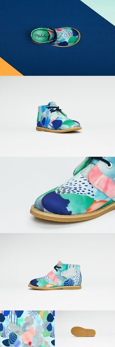 Melula Shoes: Colourful kids shoes by Louise Møllermark & Søren Hougesen — Kickstarter