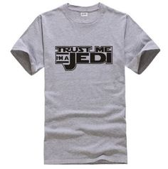 Star Wars Trust Me I'm A Jedi Printed Men T Shirt