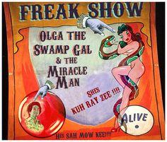 Vintage Freak Show Posters - Bing Images