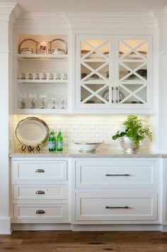 Kitchen Cabinet Decision: Glass or Solid Doors? Gallerie B