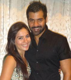 Shabir Sebastian Ahluwalia With his Wife