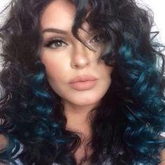 #curlyhair #Makeupbyevon <3