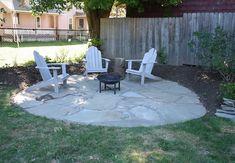 Round flagstone patio inspiration