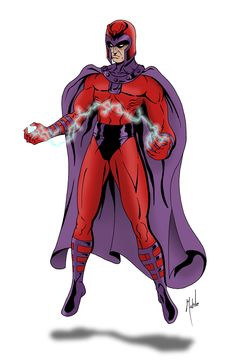 #Magneto #Fan #Art. (Magneto) By: MikeMahle. ÅWESOMENESS!!!™