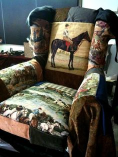 Fun and Unique Horse Armchair Design for Home Interior Furniture by Independent Label