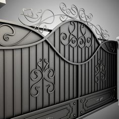 3d Model Wrought Iron Gate Wrought Iron Gate By Sogun