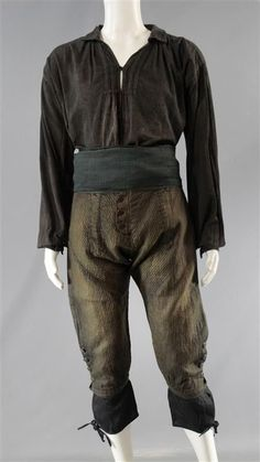 BLACK SAILS CAPTAIN FLINT TOBY STEPHENS SCREEN WORN PIRATE COSTUME SS 3 (1 of 2)