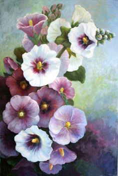 The artist has revealed the amazing beauty of vegetation and flower blossom. The blooming nature awakens optimism, beautiful feelings, love and great desire to protect our world.
