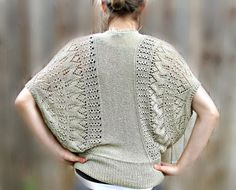 Hand Knitted Blouse.